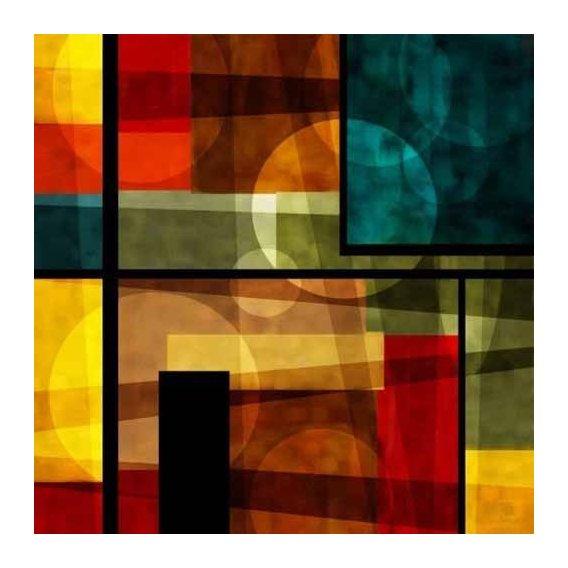 pinturas abstratas - Quadro -Moderno CM2540-