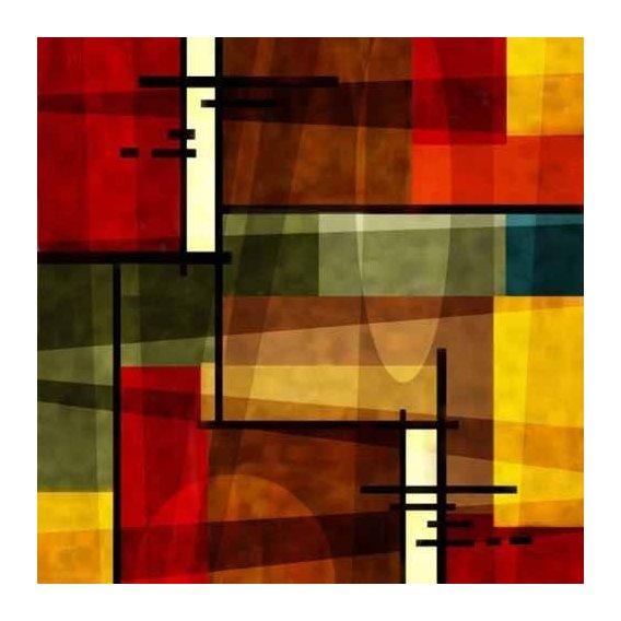 pinturas abstratas - Quadro -Moderno CM2541-