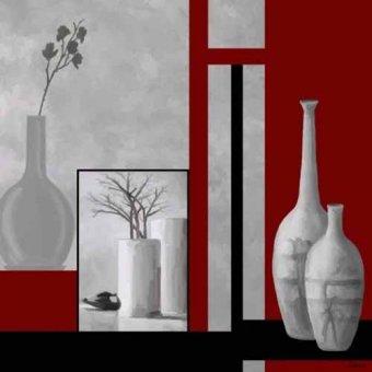 naturezas mortas - Quadro -Moderno CM3330- - Medeiros, Celito