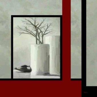 naturezas mortas - Quadro -Moderno CM3334- - Medeiros, Celito