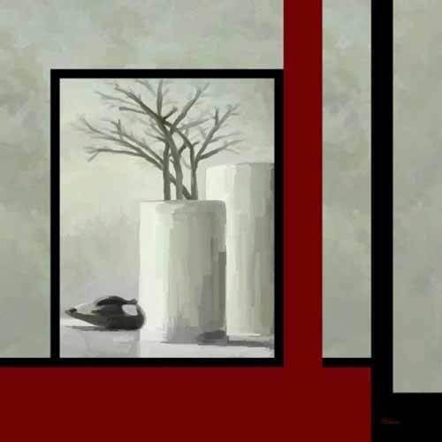 naturezas-mortas - Quadro -Moderno CM3334- - Medeiros, Celito