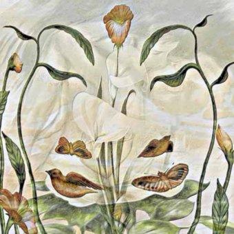 quadros de flores - Quadro -Moderno CM3498- - Medeiros, Celito