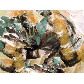Quadros abstratos - Quadro -Moderno CM3595- - Medeiros, Celito