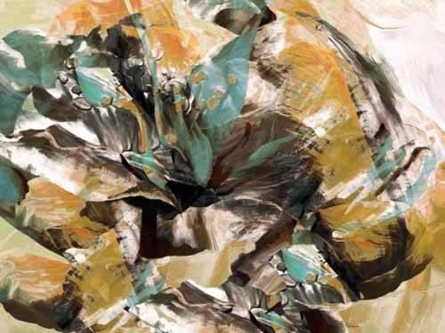 quadros-abstratos - Quadro -Moderno CM3595- - Medeiros, Celito