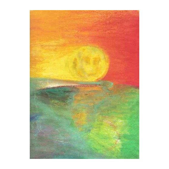 abstracts paintings - Picture -Abstracto Atardecer_11-