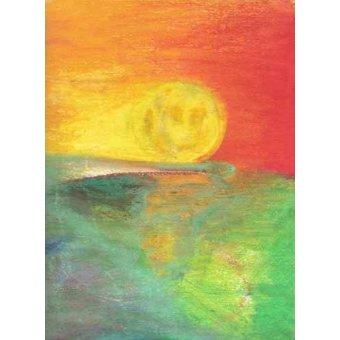 Quadros abstratos - Quadro -Abstrato Crepúsculo_11- - Molsan, E.