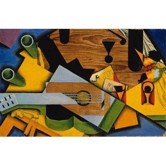 cuadros abstractos - Cuadro -Still Life with a Guitar- - Gris, Juan