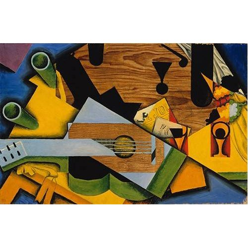 Quadro -Still Life with a Guitar-