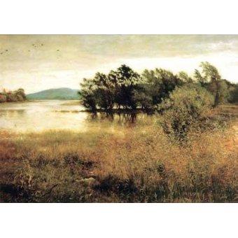 - Quadro -Chill October- - Millais, John Everett