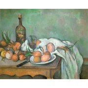 Quadro -Bodegon con cebollas-