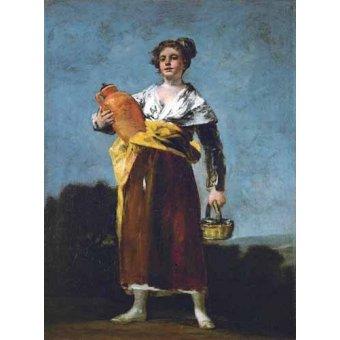 - Quadro -La Aguadora- - Goya y Lucientes, Francisco de
