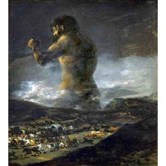 - Quadro -El Coloso- - Goya y Lucientes, Francisco de