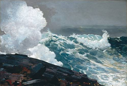 quadros-de-paisagens-marinhas - Quadro -Northeaster- - Homer, Winslow