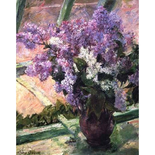 Quadro -Lilacs in a Window, 1880-