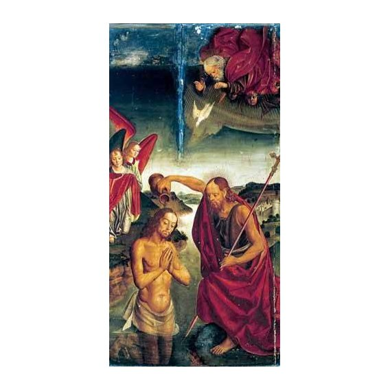 imagens religiosas - Quadro -Bautismo De Cristo-