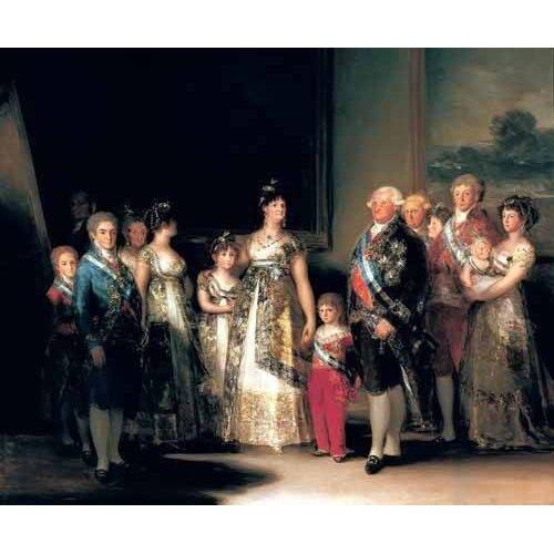 Quadro -Retrato de la Familia de Carlos IV de España-