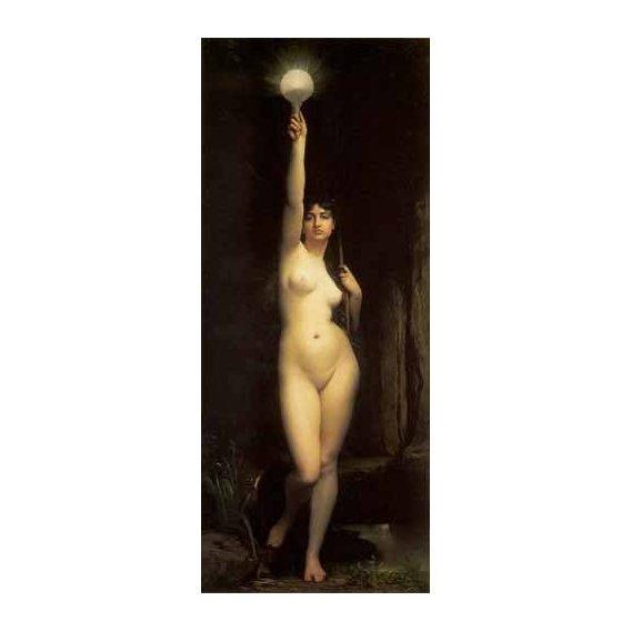 pinturas do retrato - Quadro -La Verdad-