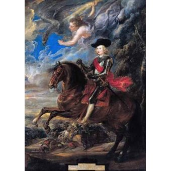 - Quadro -Don Fernando de Austria en la batalla de Nordlingen- - Rubens, Peter Paulus