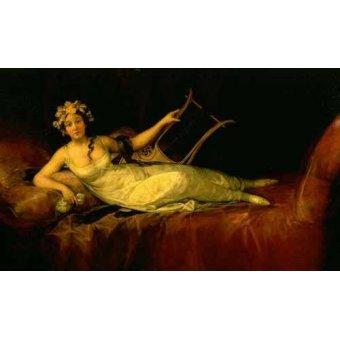 - Quadro -Retrato de la Marquesa de Santa Cruz- - Goya y Lucientes, Francisco de