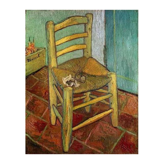 Still life paintings - Picture -La silla de Vincent-