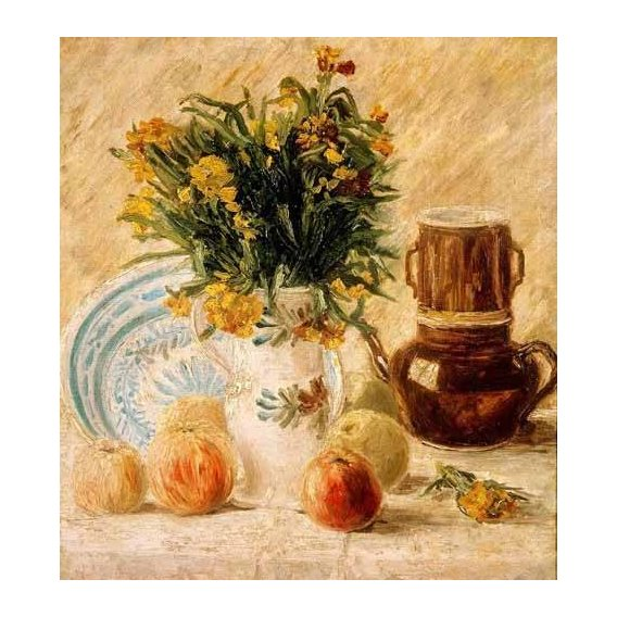 Still life paintings - Picture -Bodegón, 1887-
