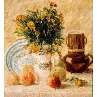 naturezas mortas - Quadro -Bodegón, 1887- - Van Gogh, Vincent