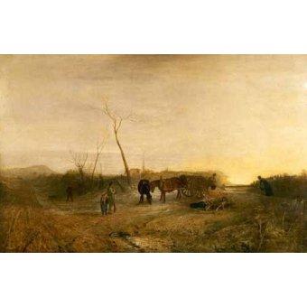 - Quadro -Mañana glacial- - Turner, Joseph M. William