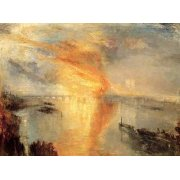 Cuadro -The burning of the house of L-