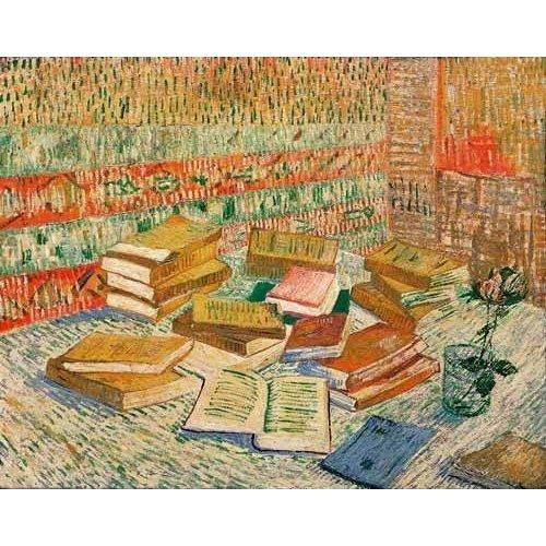 Quadro -Los libros amarillos, 1887-