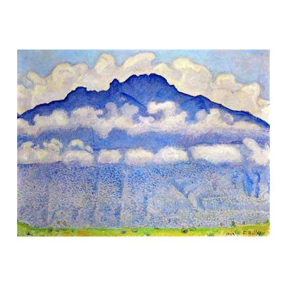 pinturas de paisagens - Quadro -Landscape in the Berne Oberland-