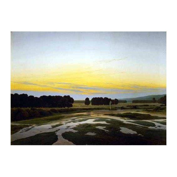 pinturas de paisagens - Quadro -The Big Preserve Near Dresden-