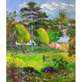 - Quadro -Landscape (Paysage) 1891- - Gauguin, Paul