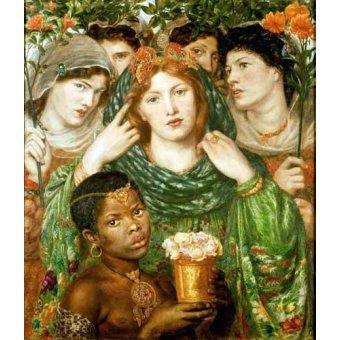 - Quadro -The Beloved- - Rossetti, Dante Gabriel