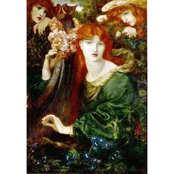 - Quadro -Ghirlandata- - Rossetti, Dante Gabriel