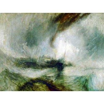 - Quadro -Snow Storm- - Turner, Joseph M. William