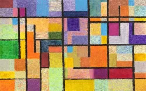 quadros-abstratos - Quadro -Abstrato M_K_1- - Molsan, E.