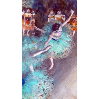 - Quadro -Green Dancer- - Degas, Edgar
