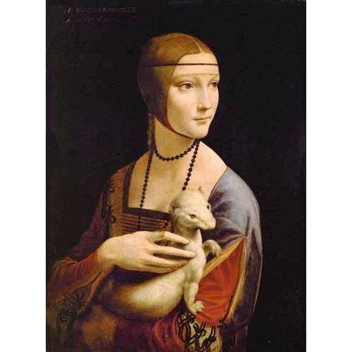 Quadro -Dama con un armiño-