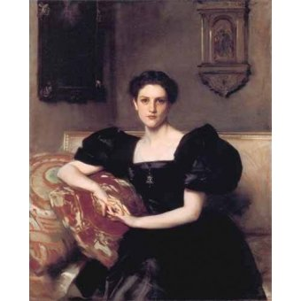 - Quadro -Retrato de Elizabeth Winthrop Chanler- - Sargent, John Singer