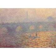 Quadro -Waterloo Bridge, 1900-