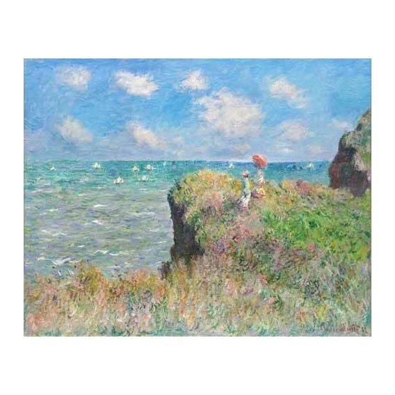 pinturas de paisagens - Quadro -Etretat-