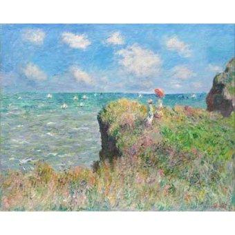 quadros de paisagens marinhas - Quadro -Etretat- - Monet, Claude