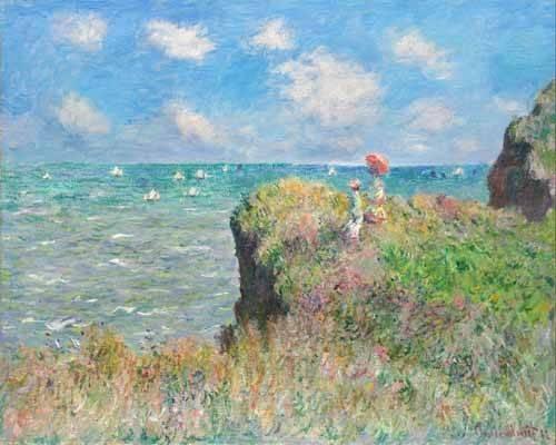 quadros-de-paisagens - Quadro -Etretat- - Monet, Claude