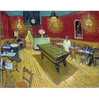 - Quadro -The Night Cafe in Arles, 1888- - Van Gogh, Vincent