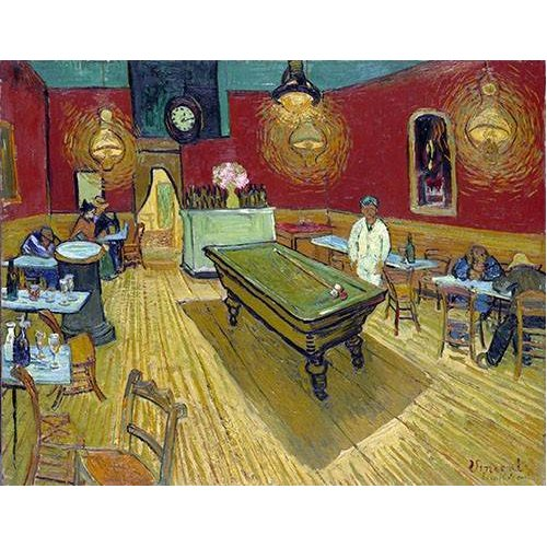 Quadro -The Night Cafe in Arles, 1888-