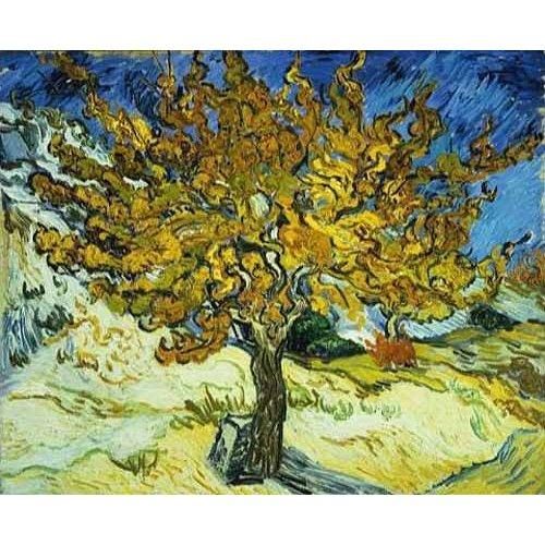 pinturas de paisagens - Quadro -Mulberry Tree, 1889-