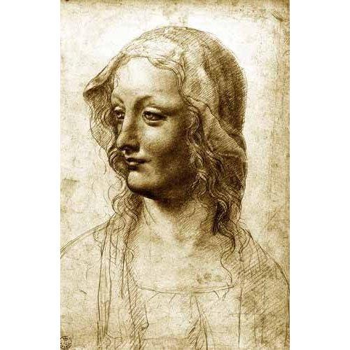 pinturas do retrato - Quadro -Cara de una mujer-