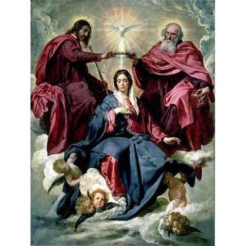 Quadro -Coronacion de la Virgen-