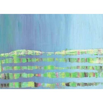 Quadros para sala de jantar - Quadro -Abstracto Stream (I).- - Vicente, E. Ricardo