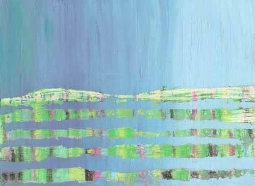 quadros-abstratos - Quadro -Abstracto Stream (I).- - Vicente, E. Ricardo